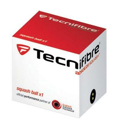 Tecnifibre - Squash Balls Double Dot Yellow - Approved by the WSF