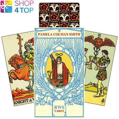 Rws Tarot Pamela Colman Smith Deck Cards Esoteric Telling Lo Scarabeo New