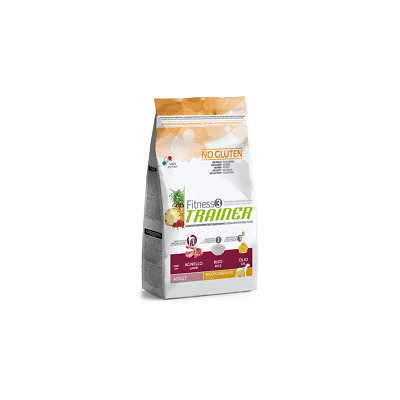 Trainer Fitness 3 Adult Medium Maxi con Agnello Riso Olio 12,5 kg (GRATIS SPEDIZ