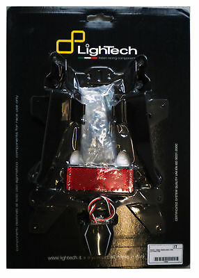 Yamaha Yzf R6 600 2008 > 2016 Support De Plaque D' Immatriculation Lightech Mc