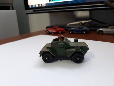 Vintage - Daimler Scout Car Corgi Juniors Made in Great Britain - Rare
