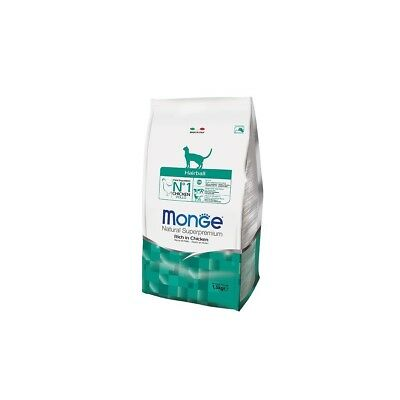 Monge Gatto Hairbool Superpremium 1,5 Kg 8009470005234