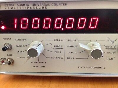 HP 5328A Universal Frequency Counter!