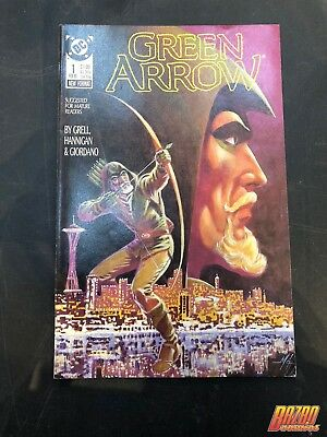 Green Arrow #1 Mike Grell 1988 DC Comics
