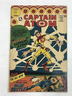 Captain Atom #83 Nov. 1966 1St Appearance Of The Blue Beetle Ted Kord Charlton