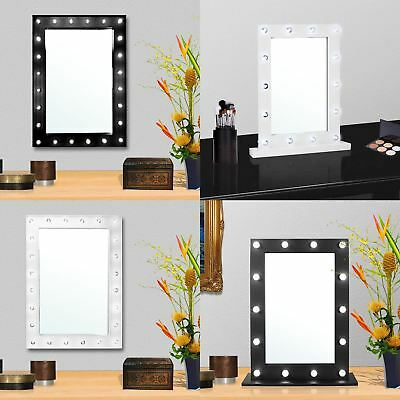 Light Up Dressing Table Hollywood LED Mirror Bulbs Make Up Vanity Table Mirror
