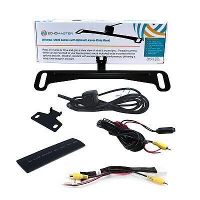 metal License Plate Rear View Camera For Toyota Sc Vehicle Electronics & Gps Rear View Monitors/cams & Kits Car Backup Camera T-harness