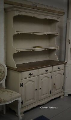 Shabby Chic,Hand painted French Dresser, Annie sloan Country grey