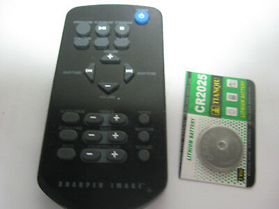 Sharper Image Remote Control So335 Audio Clear 5231 U 2295
