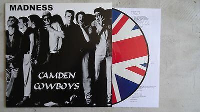 Madness - Camden Cowboys PicLP Picture LP Ska 2 Two Tone Rare Japanese Version