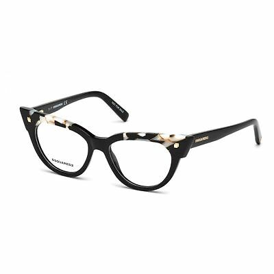 Occhiali da Vista Dsquared2 DQ 5235 SHINY BLACK donna pNqrfGIo