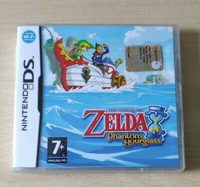 THE LEGEND of ZELDA PHANTOM HOURGLASS DS 2DS 3DS  NINTENDO ITALIANO COME NUOVO