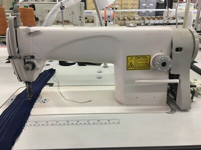 Single Needle Sewing Machine 8700 w/ 110-volt Servo Motor & Table FREE SHIPPING