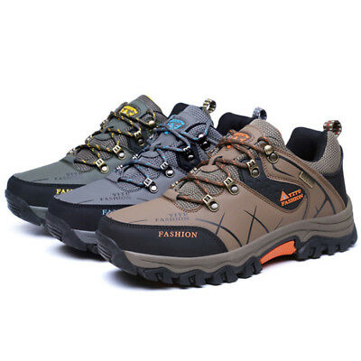 Men's Hiking Shoes Outdoor Climbing Trekking Running Sports Breathable Sneakers