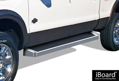 iBoard Running Boards Style Fit 99-16 Ford F250/F350/F450 Crew Cab