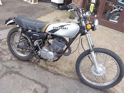 1974 KAWASAKI 350 Big Horn F9 rare twin shock us import great project £1150