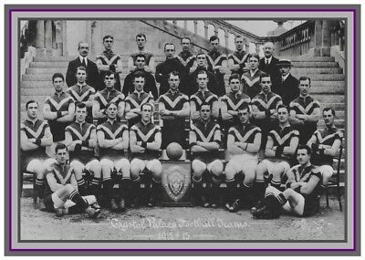 Collectors/Photograph/Print/Crystal Palace/Team/Photo/Squad/1912/13