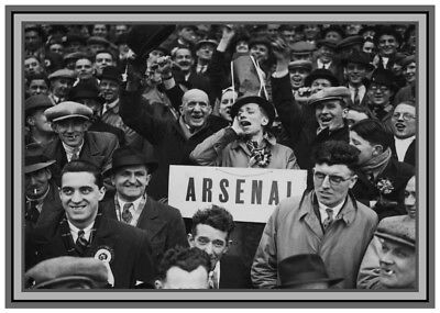Collectors/Photograph/Print/Arsenal/Fans/Supporters/Highbury/1930's/1938