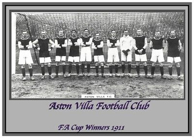 Collectors/Photograph/Print/Aston Villa/Team/Squad/Photo/1911 FA Cup Winners