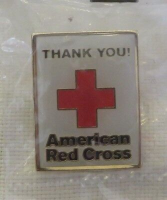 Red Cross Thank You American Red Cross Pin  Rc007