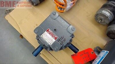 Boston Gear R1211 1.5:1 Ratio Right Angle Gear Reducer, 3.5 Input Hp