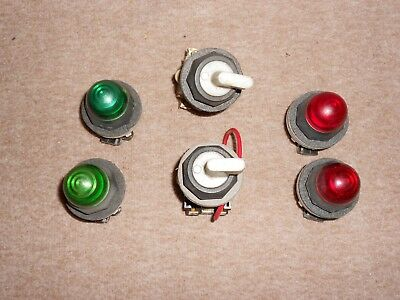 Westinghouse Indicator Lights & On/Off Switches - Used