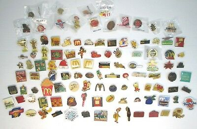 AMAZING COLLECTION McDonalds pins Employee & Team Member Collectible Pins
