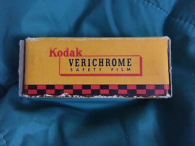 Vintage Kodak Verichrome V116 Safety Film Unopened Box V 116 Expired