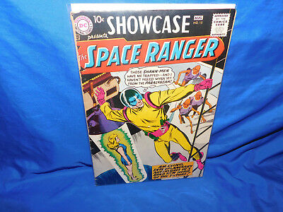 Showcase #15 Low Grade Silver Age DC Comics 1st Appearance Of Space Ranger