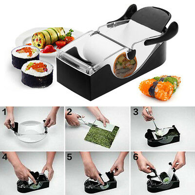 Sushi Roll Maker DIY Perfect Rice Roller Roll Make Kit Rolling Kitchen Tool