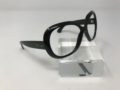 Ray Ban Sunglasses WOMENS JACKIE OHH II RB4098 601 60-14-135 BLACK OVERSIZED D02