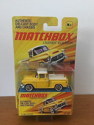 Matchbox Lesney Edition Authentic Die - Cast Body And Chassis 57 Gmc