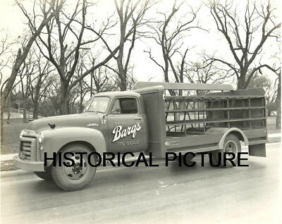 Barqs Soda Photo Truck Vintage 1952 Coca-Cola Truck New Orleans Louisana Texas