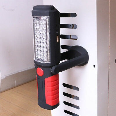 Magnetic LED COB Inspection Lamp Work Flashlight Light Rechargeable USB Torch AU