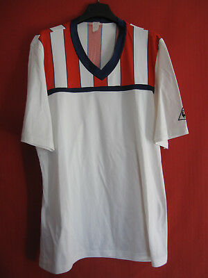 Football jersey Le coq Sportif Vintage 80'S Made in France Football -M / L