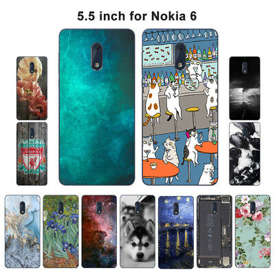 Soft TPU Silicone Case For Nokia 6 Protective Phone Back Covers Skins View