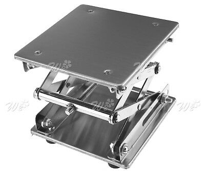 15X15cm Lab-Lift Lifting Platforms Stand Rack Scissor Stainless Steel Laboratory