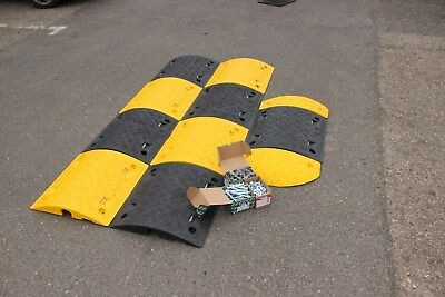 SR75 75mm 5-10mph 1*5m Speed Bump Kit with Fixings