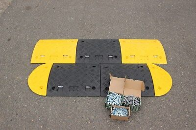 SR50 50mm 10-20mph 1*3m Speed Bump Kit with Fixings