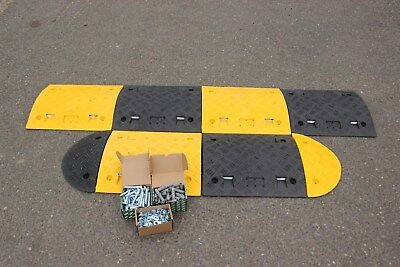 SR50 50mm 10-20mph 1*3.5m Speed Bump Kit with Fixings