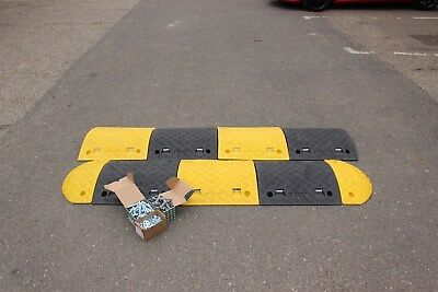 SR50 50mm 10-20mph 1*4m Speed Bump Kit with Fixings