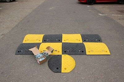 SR50 50mm 10-20mph 1*4.5m Speed Bump Kit with Fixings
