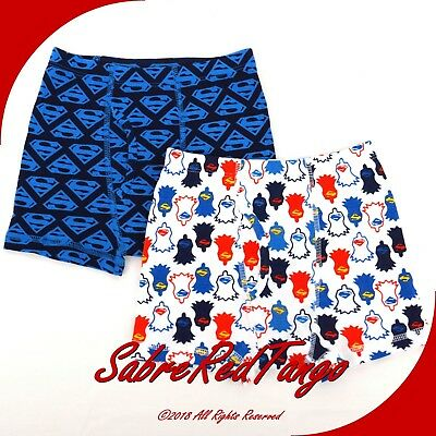 Nwt Hanna Andersson Organic Unders Boxer Brief Superman Print S 100 110 4 5