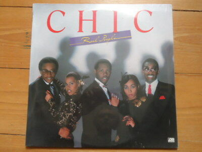 Chic-Real People-Still Sealed Lp 1980
