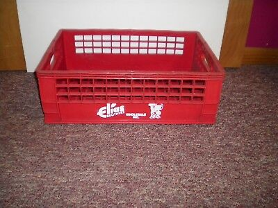 Vintage Plastic Elias Brothers Bob's Big Boy Crate Carrier Tote Caddy Dish Tray