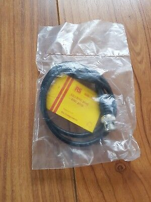 Connector, coaxial, test lead, BNC, plug-plug, 50 Ohm, 0.6m