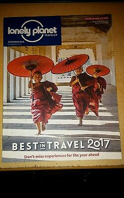 Lonely Planet Magazine December 2016 Best Travel 2017 Colombia Canada Oman