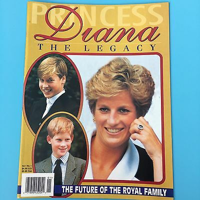 Magazine Princess Diana Legacy 1997 Tribute Collectors Royal Family Wales NEW