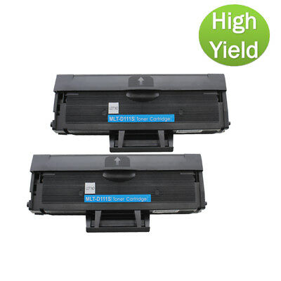 2PK For Samsung Xpress SL-M2070FW SL-M2070FW Toner MLTD111S High Yield Toner