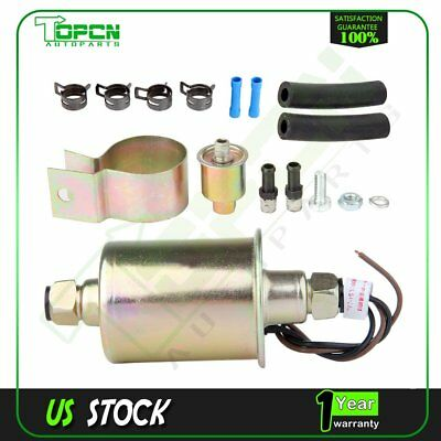 New High Performance Electric Fuel Pump With Installation Kit E8023 E3285